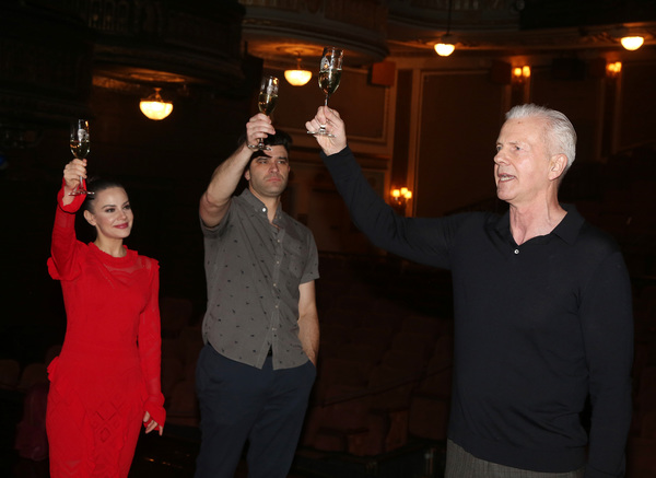 Meghan Picerno, Ben Crawford and Musical Supervisor David Caddick  Photo