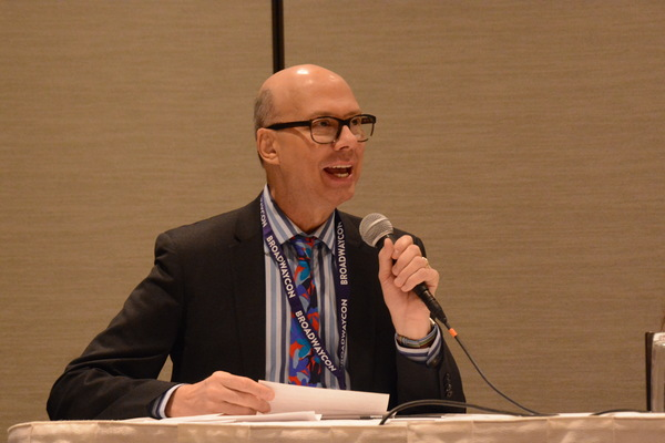 Photos: Richie Ridge Interviews The Next Generation of Major Playwrights at BroadwayCon