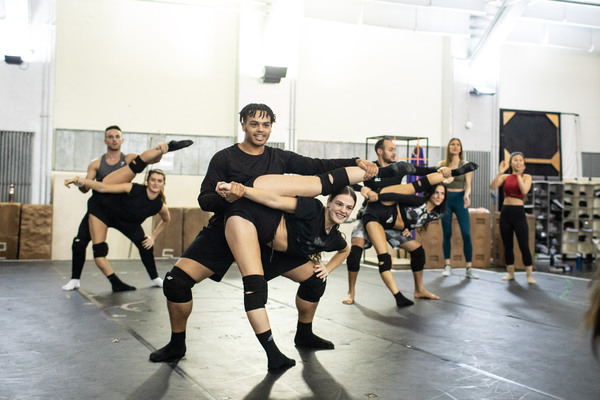 Photos/Video: Inside Rehearsal For THE PRINCE OF EGYPT in London