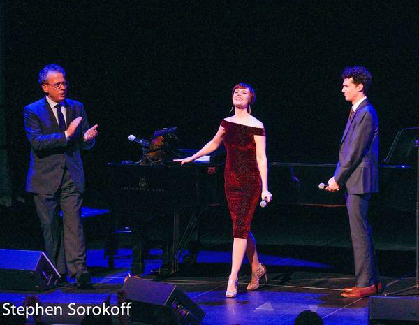 Billy Stritch, Carole J. Bufford, Liam Forde Photo