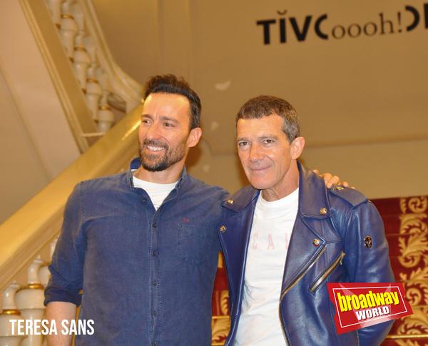 Pablo Puyol y Antonio Banderas Photo