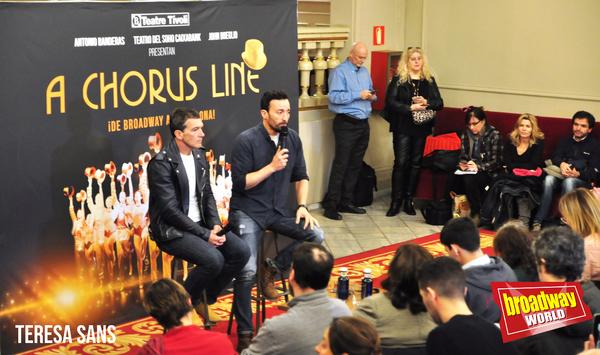 Antonio Banderas y Pablo Puyol Photo