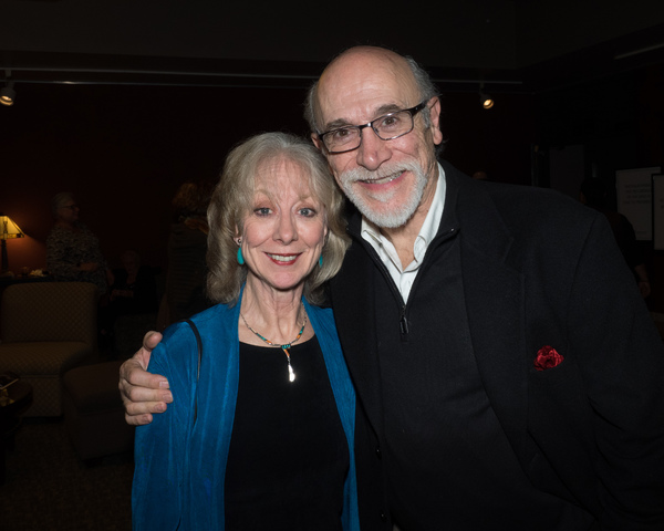 Ellen Crawford and Tony Amendola