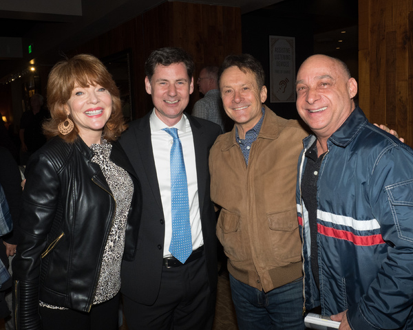 Cynthia Ferrer, B.T. McNicholl, Randy Rogel, and Jamie Torcellini Photo