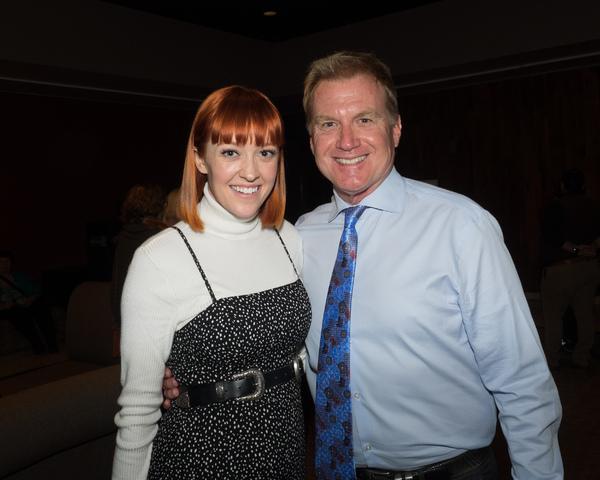 Jenna Wright and Tom McCoy Photo