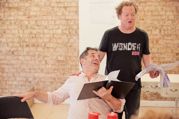 Photo Flash: Inside Rehearsal For LA CAGE AUX FOLLES (THE PLAY) at Park Theatre