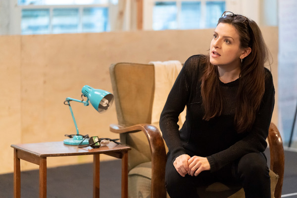 Photo Flash: Inside Rehearsal For FAR AWAY at the Donmar Warehouse