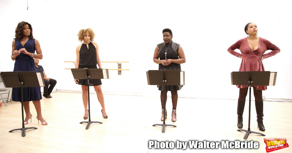 Nicole Henry, Lana Gordon, Darlene Hope and Dionne Figgins During the Open Rehearsal  Photo