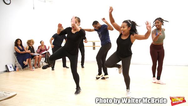 Photos: Get a First Look at A WONDERFUL WORLD Rehearsal Photos