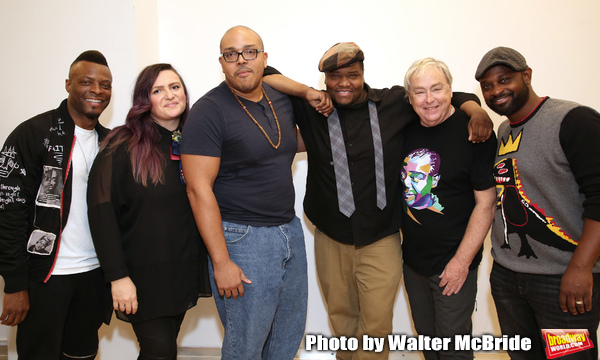 Rickey Tripp, Annastacia Victory, Aurin Squire,  Juson Williams, Christopher Renshaw and Michael O. Michell