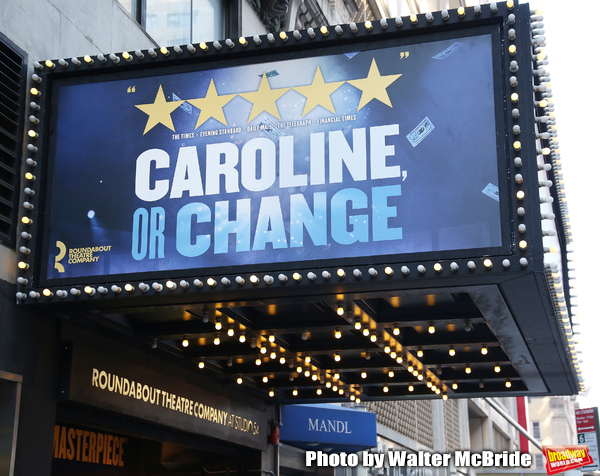Theatre Marquee unveiling  for the  Roundabout Theatre Company's revival of the Tony  Photo