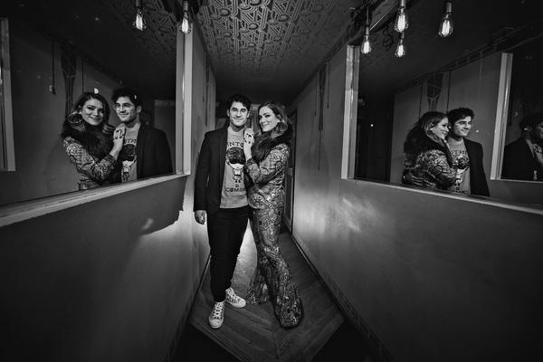 Darren Criss and Mia Swier Photo