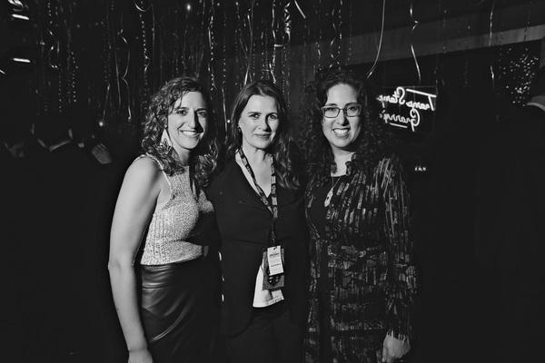 Eva Price, Carmen Pavlovic, and Mara Isaacs