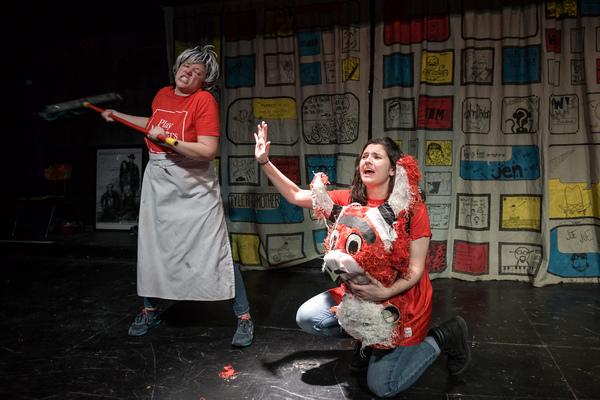 Nancy Casas and Mary Tilden