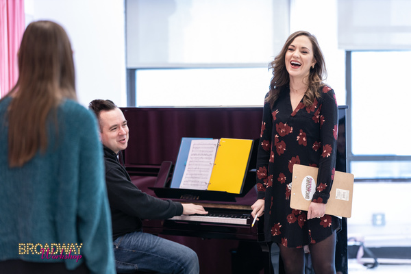 Laura Osnes and Broadway Workshop Student Photo