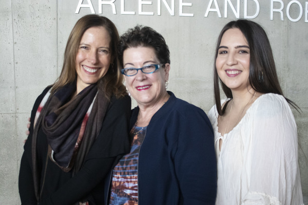 Marian Licha, director Molly Smith and Heather Velazquez Photo