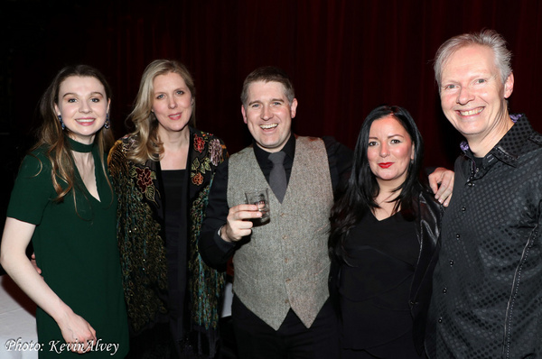 Maddie Kearns, Mairi Dorman-Phaneuf, Andrew Weir, Margaret Kelly, Steve Gibb Photo