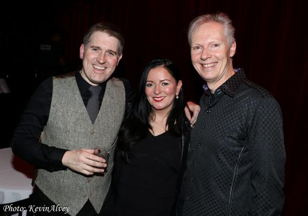 Andrew Weir, Margaret Kelly, Steve Gibb Photo
