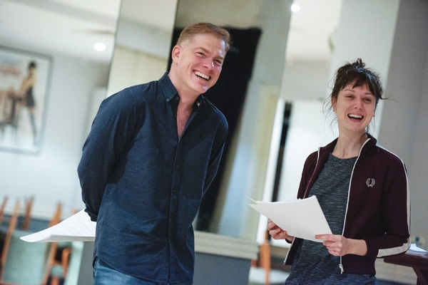 Photo Flash: Check Out Rehearsal Photos of TRYST at Chiswick Playhouse