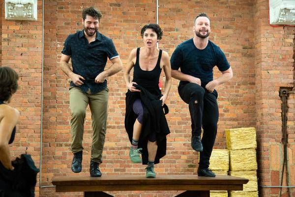 Omar Lopez-Cepero, Beth Malone, Keven Quillon Photo