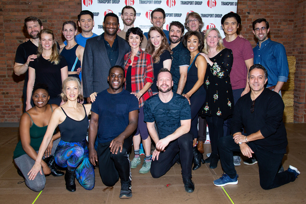 The cast and creative team of THE UNSINKABLE MOLLY BROWN Photo