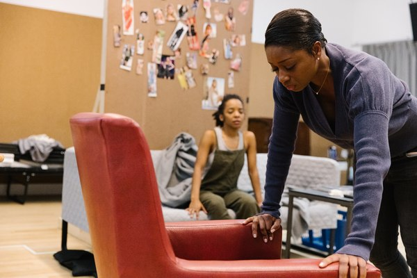 Photo Flash: First Look at Montego Glover, Joshua Boone and More in Rehearsals for ALL THE NATALIE PORTMANS