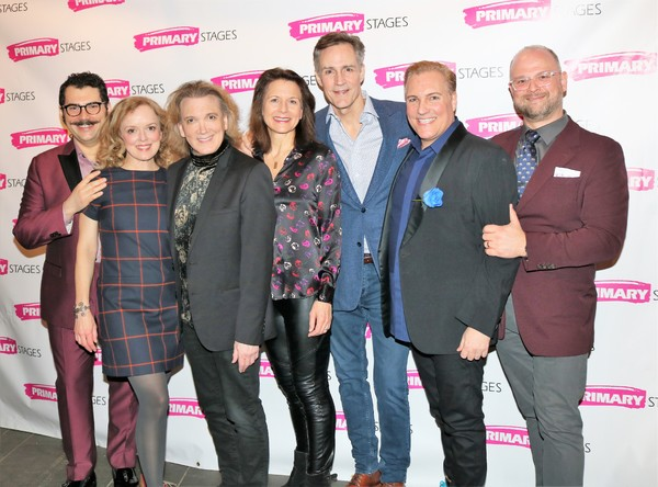 Kendal Sparks, Nancy Anderson, Charles Busch, Jennifer Van Dyck, Howard McGillin, Christopher Borg and Carl Andress