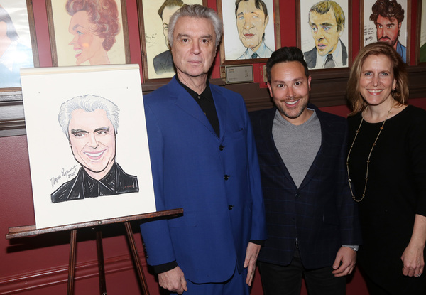David Byrne, Producer Patrick Catullo and Producer Kristin Caskey Photo