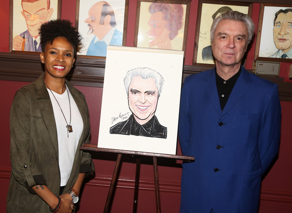 Angie Swan and David Byrne