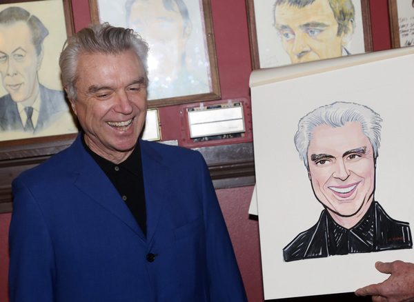 Photo Coverage: AMERICAN UTOPIA's David Byrne Celebrates New Sardi's Portrait