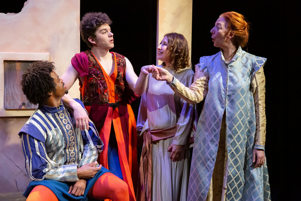 Photo Flash: Opening Night First Look at BROCADE, a World Premiere Comedy Depicting Gay Life In 17 C. Venice