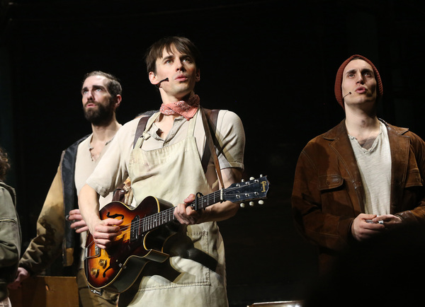 Timothy Hughes, Reeve Carney and John Krause  Photo