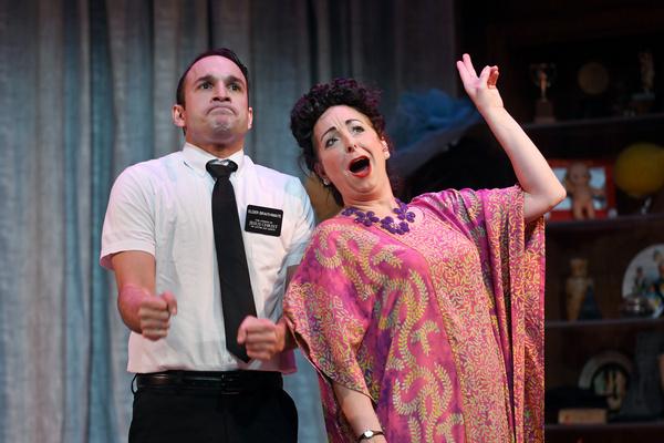 Jerreme Rodriguez & Christine Laitta in Pittsburgh CLO''s THE BOOK OF MERMAN | Photo: Photo