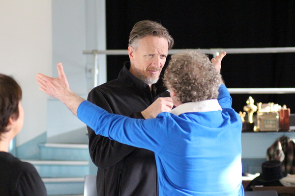 Photo Flash: In Rehearsal with BANG BANG! by John Cleese at Exeter Northcott Theatre