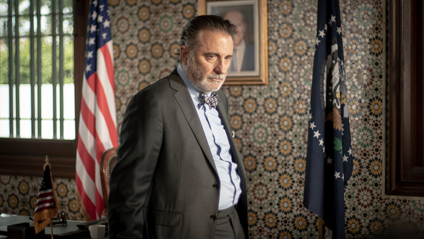 Andy Garcia as Ambassador Williams in Redemption Day Photo