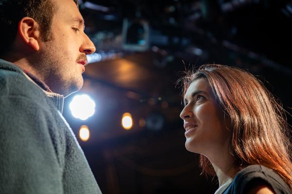 Hugo Herman-Wilson and Fiona Finsbury