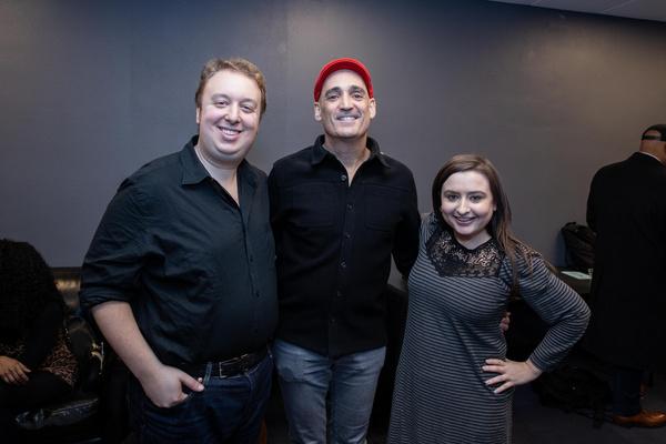 Ben Caplan, John Znidarsic and Jen Sandler Photo