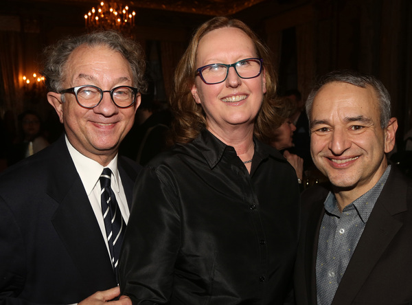 NEW YORK, NEW YORK - JANUARY 30:(L-R) William Ivey Long, Producer Beth Williams and J Photo