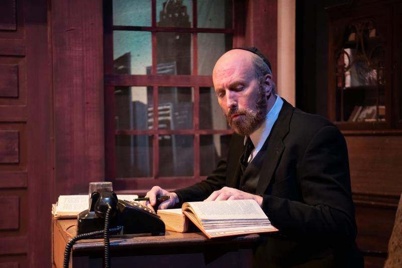 BWW Review: MY NAME IS ASHER LEV Paints Stirring Picture of the Complexities Between Art and Faith