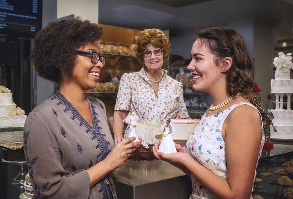 Photo Flash: Behind the Scenes At The Photo Shoot For THE CAKE At Farmers Alley Theatre