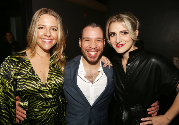 Helene Yorke, Robin de Jesus and Annaleigh Ashford  Photo