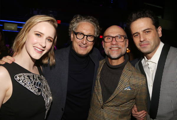 Rachel Brosnahan, Bernard Telsey, Will Cantler, Luke Kirby  Photo