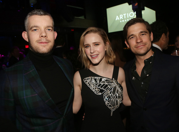 Russell Tovey, Rachel Brosnahan and Jason Ralph  Photo