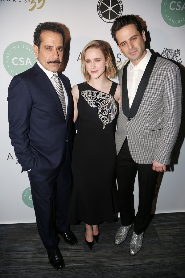 Tony Shalhoub, Rachel Brosnahan, Luke Kirby  Photo