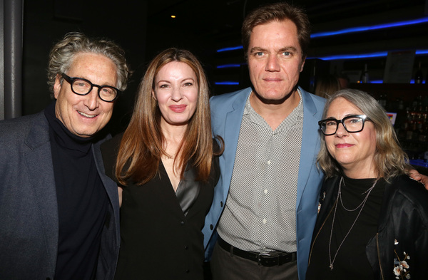 Bernard Telsey, Kate Arrington, Michael Shannon and Ellen Lewis  Photo