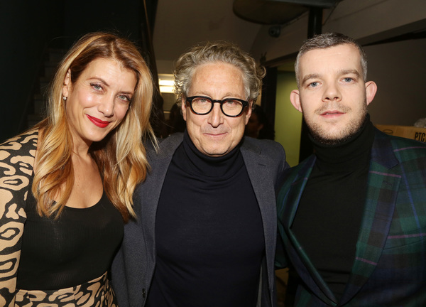 Kate Walsh, Bernard Telsey, Russell Tovey  Photo
