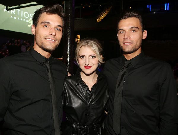 Trey Eason, Annaleigh Ashford, Trevor Eason  Photo