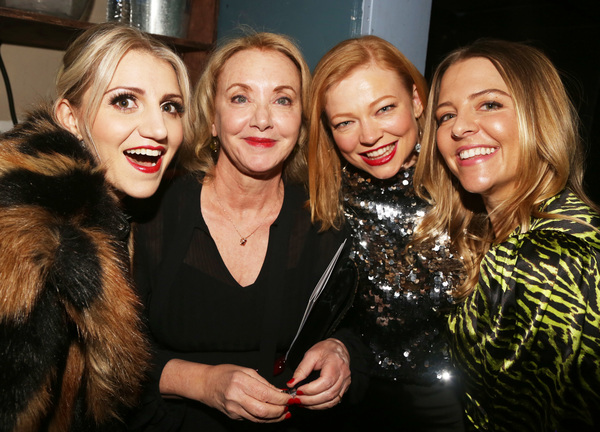 Annaleigh Ashford, J. Smith-Cameron, Sarah Snook, Helene Yorke   Photo
