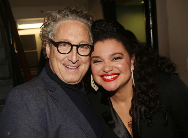 Bernard Telsey, Michelle Buteau  Photo