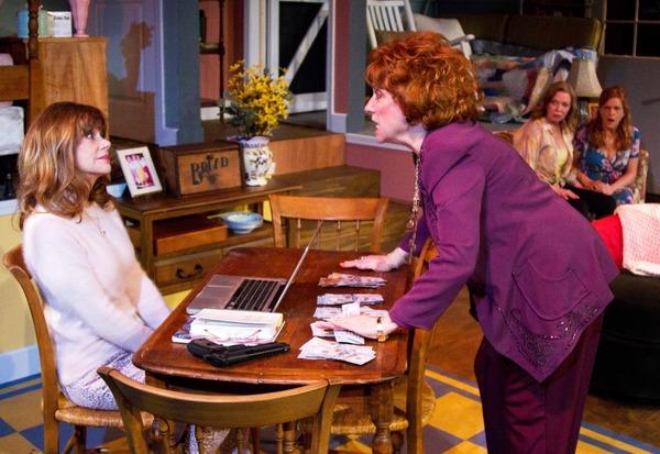 Bobbie Eakes, Sharon Garrison, Rachel Sorsa and Dale Dickey Photo